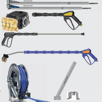 Komponentai aukšto slėgio plovykloms