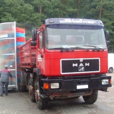 Mobilios sunkvežimių ir autobusų plovyklos
