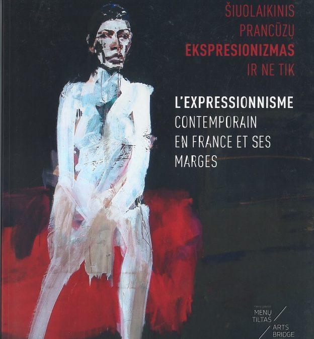 2018 m. parėmėme knygos Šiuolaikinis prancūzų ekspresionizmas ir ne tik leidimą